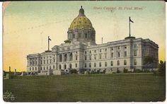 State Capitol St Paul Minnesota Minn MN Postcard | eBay
