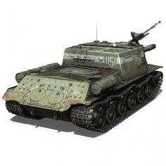 ISU-152 - Soviet heavy self-propelled gun