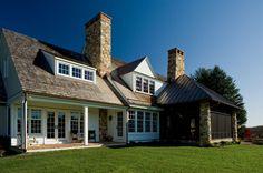 Like:  Roof, Dormers, Stone, Windows, Chimney, Porch