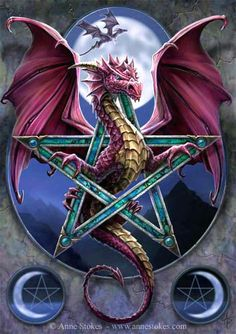 Dragons have control of deeper currents of Elemental Energies than is usually felt by humans. They are always connected in some way with various forms of the Four Elements.