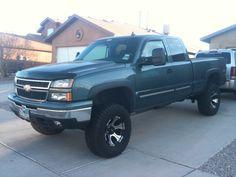Chevrolet lifted Trucks