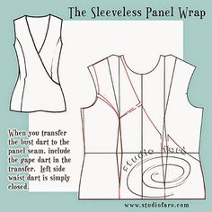Pattern Fundamentals - Gape Darts. Contouring. How to fix a gaping neckline.