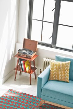 Crosley Manchester Stand | Urban Outfitters | Home & Gifts | Furniture | Tables #UrbanOutfitters #UOEurope