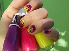 Purple + Pink + Yellow + Neon + Summer