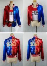 Batman Joker Harley Quinn Suicide Squad Jacket Cosplay Costume Leather Coat