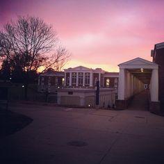#UVa sunset