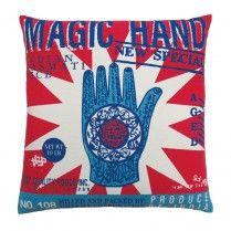 Rice Magic Hand Throw Pillow