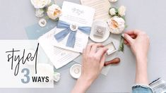 Want better wedding detail photos? In this tutorial I share how to photograph wedding invitation flat lays – styling 3 unique invitation suites! Wedding Photography Tips, Flat Lay Photography, Photography Tutorials, Unique Wedding Invitations, Wedding Invitation Suite, Invitation Design, Flatlay Styling, Unique Weddings, Wedding Details