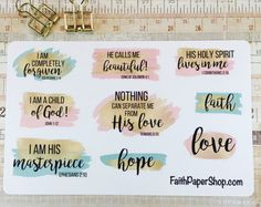 Browse unique items from FaithPaperShop on Etsy, a global marketplace of handmade, vintage and creative goods.