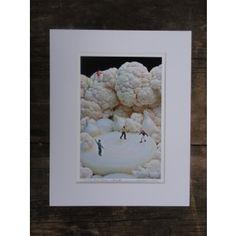 Onion Skaters Lilliputian Landscape Print - Lilliputian Landscapes - Fine Art