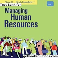 Test bank for human resource management 14th edition by mondy test test bank for managing human resources 16th edition by snell download13052583559781305258358 fandeluxe