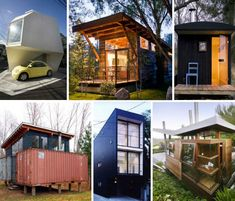 14 More Modern Tiny Houses & Backyard Getaways