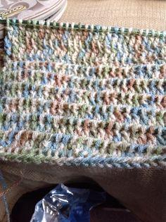 Tunisian Double Crochet Stitch
