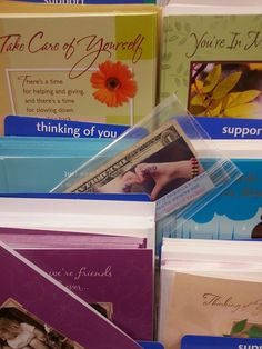 """Dollar left in the """"Thinking of you"""" card section!! Join Sparks of Kindness https://www.facebook.com/groups/747076662042246/?ref=bookmarks #randomactsofkindness #sparksofkindness"""