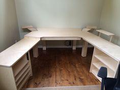 Wing Commander - Recording studio desk