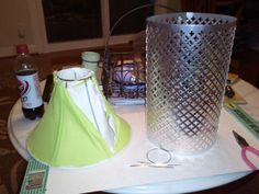 Metal Sheeting Lamp Shade