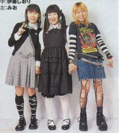 An archive of old school lolita coordinates Harajuku Fashion, Lolita Fashion, 90s Fashion, Fashion Outfits, Old School Fashion, Harajuku Girls, Fashion Hacks, Tokyo Street Fashion, Japanese Street Fashion