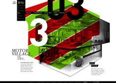 Julien Bailly /// #Fiat Motor Village #Webdesign