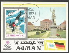 Ajman - Emiratos Arabes  Juegos Olímpicos Munich