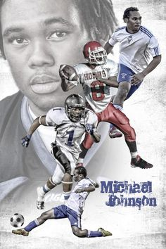 Sports poster design for a combination of Football and Soccer. Order yours at http://anythingphotos.com/projects/photos/sports