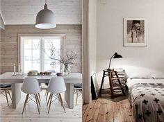 colores para lograr una decoración nórdica los suelos de madera