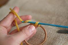 Crochet it up! Hair Ties and Headbands