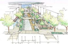 VISIT FOR MORE Bell Street Park Project Will Create New Belltown Public Space public developments Curbed Seattle The post Bell Street Park Project Will Create New Belltown Public Space public developm appeared first on street. Landscape Drawings, Architecture Drawings, Landscape Architecture, Landscape Design, Architecture Diagrams, Sections Architecture, Architecture Portfolio, Architecture Design, Urban Village