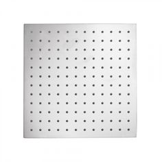 """16"""" Square Stainless Steel Rainfall Shower Head"""