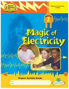 Kids can explore why certain things insulate from electricity better than others, the effect that magnetism has various substances, how to build a flashlight, build & test a compass, build an electromagnet & electric motor.