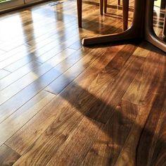 Black Walnut Hardwood Flooring | Lacquered American Black Walnut