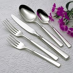 Oneida Easton 65 Piece Service for 12 Plus 5 Serving Pieces Flatware Set * Be sure to check out this awesome product.