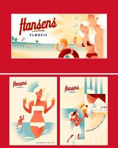 Hansens Flødeis, Hornbæk, Denmark