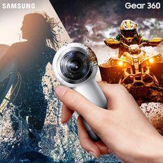 360 κάμερα στην καλύτερη ανάλυση! Αυτό είναι το Gear 360! #ThisIsSamsung #DoWhatYouCant http://spr.ly/61848FvLr