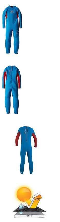 Youth 47355: O Neill Wetsuits Reactor Toddler Full Wetsuit Brite Blue Red 2Mm Size 6 -> BUY IT NOW ONLY: $82.11 on eBay!