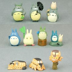 My Neighbor Totoro Adorable Characters Figures Collection set of 10 pcs