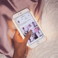 Baddie aesthetic - ❈ ⋆ phone case with selfie light the one thing i can&apo Iphone 7, Coque Iphone, Iphone Phone Cases, Phone Covers, Iphone 8 Plus, Apple Iphone, Iphone Light, Telefon Apple, Accessoires Iphone