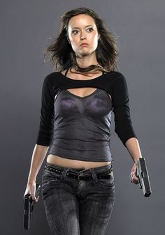 Cameron (Summer Glau) in the Terminator: The Sarah Connor Chronicles
