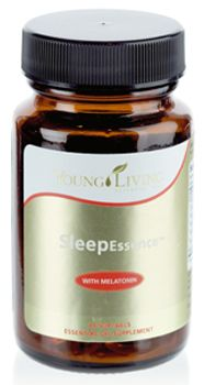 SleepEssence contains four powerful Young Living Therapeutic Grade™ essential oils that have unique sleep-enhancing properties in a softgel vegetarian capsule for easy ingestion. Combining lavender, vetiver, valerian, and Ruta graveolens essential oils with the hormone melatonin—a well-known sleep aid—SleepEssence is a natural way to enable a full night's rest.