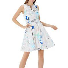 Buy Coast Mischka Print Dress, Multi Online at johnlewis.com