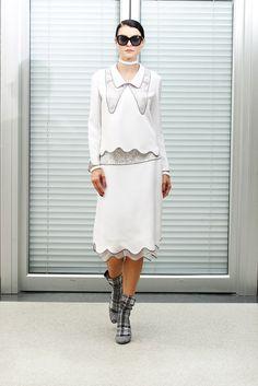 Thom Browne Resort 2013 Fashion Show - Jessica Stam