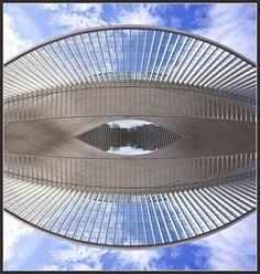 The Calatrava Eye    Liège-Guillemins Station - Liège/Luik - Belgium