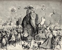 Peau D'Ane illustration by Gustave Doré