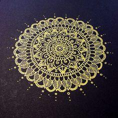 Gold Mandala | Flickr - Photo Sharing!
