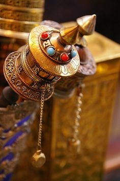 Prayer Wheel ~Repinned Via Marion Busiakiewicz-Thomas