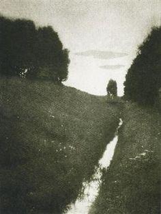 Crépuscule - Heinrich Kuhn