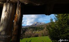 A view from my countryside to the Pania