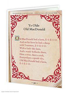 Old MacDonald Greeting Card