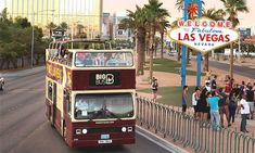 Hop on and hop off our Big Bus Las Vegas tour to take in the sights of the entertainment capital of the world. Book your Las Vegas bus tour tickets today! Las Vegas Deals, Las Vegas Tours, Las Vegas Attractions, Las Vegas Blvd, Las Vegas Trip, Las Vegas Nevada, Vegas Fun, Grand Canyon, Grande Hotel