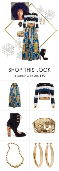 """Untitled #173"" by shayla-shante on Polyvore featuring WithChic, Sonia Rykiel, Paul Andrew, MICHAEL Michael Kors, Marco Bicego, Kenneth Jay Lane and Gucci"