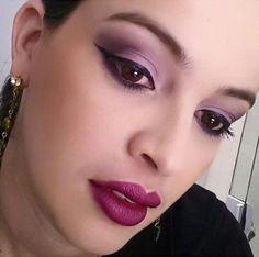 A consultora @glauciapeixotosa, do Beauty Team da NYX Teresina usando o batom queridinho Aria, da linha Matte